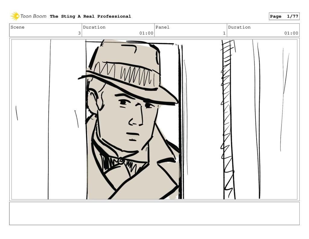 Scene 3 Duration 01:00 Panel 1 Duration 01:00 T...