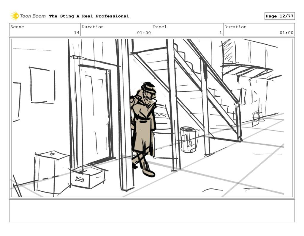 Scene 14 Duration 01:00 Panel 1 Duration 01:00 ...