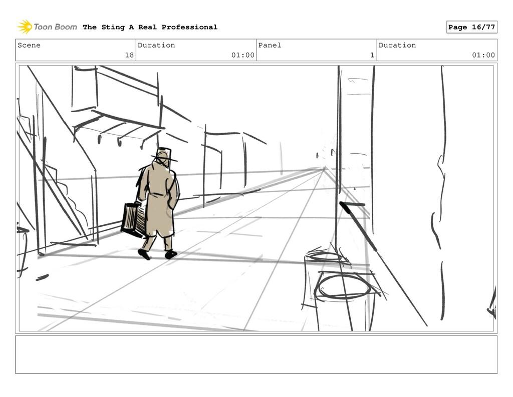 Scene 18 Duration 01:00 Panel 1 Duration 01:00 ...
