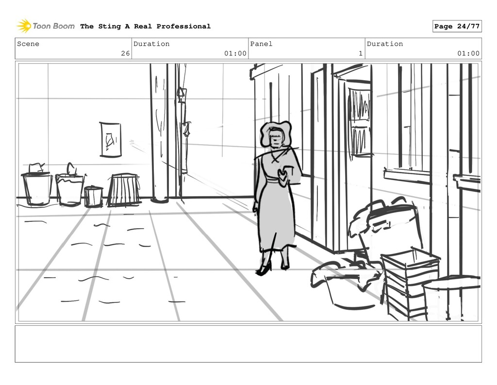 Scene 26 Duration 01:00 Panel 1 Duration 01:00 ...