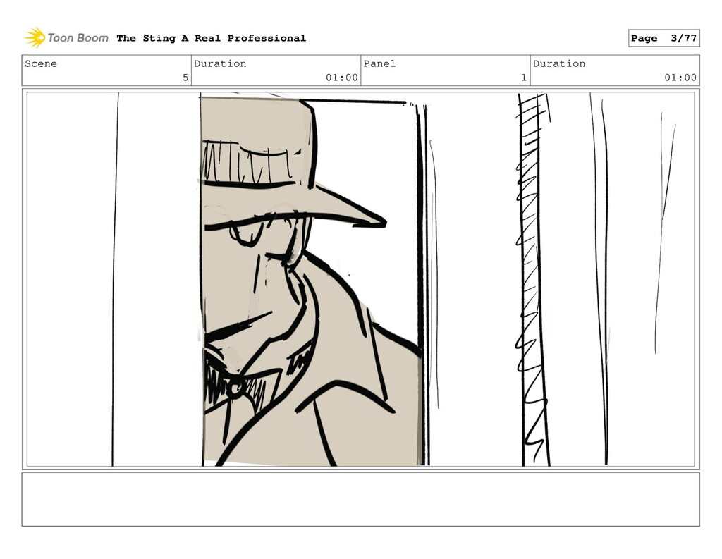 Scene 5 Duration 01:00 Panel 1 Duration 01:00 T...