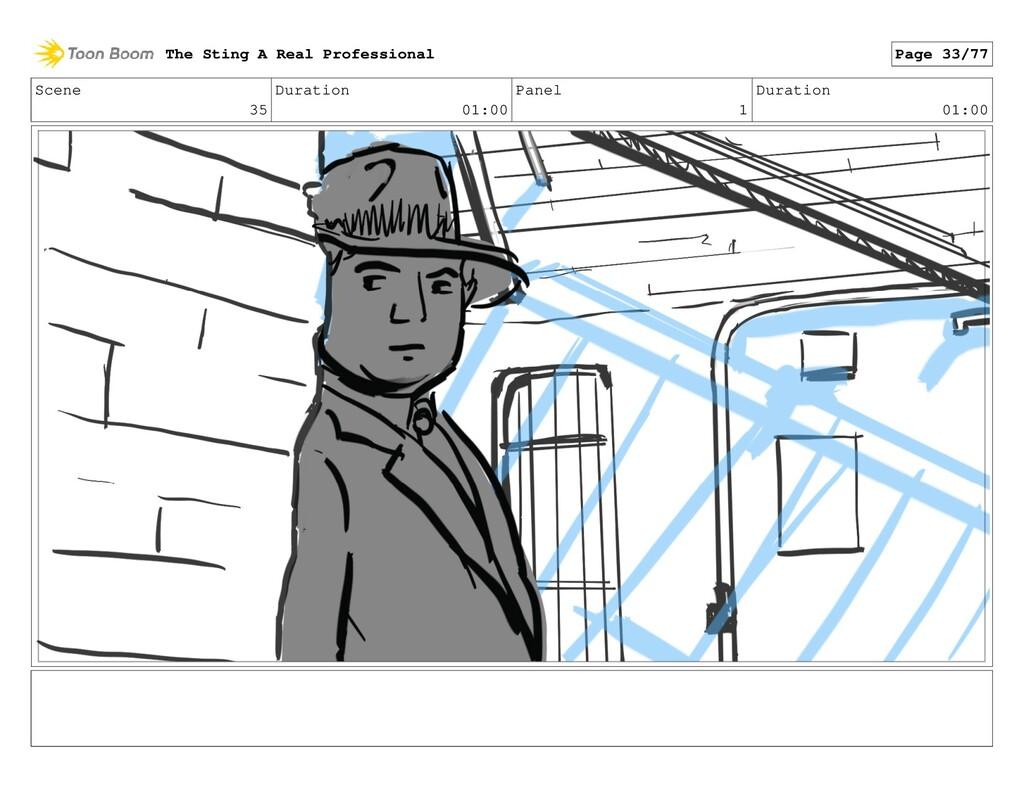 Scene 35 Duration 01:00 Panel 1 Duration 01:00 ...