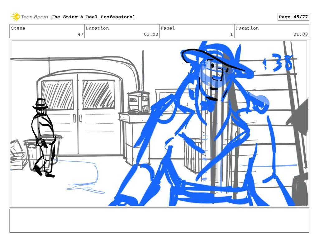 Scene 47 Duration 01:00 Panel 1 Duration 01:00 ...