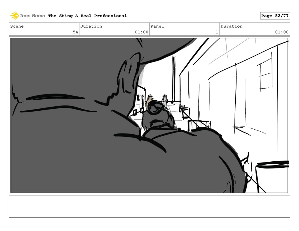 Scene 54 Duration 01:00 Panel 1 Duration 01:00 ...