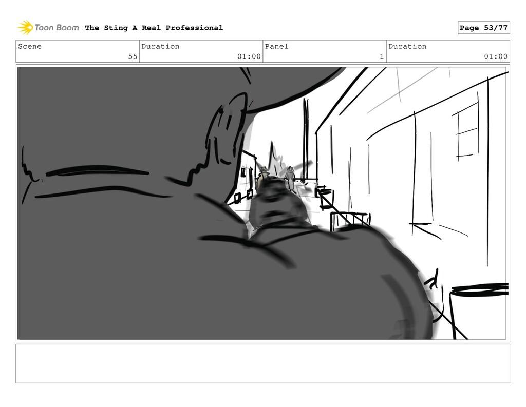 Scene 55 Duration 01:00 Panel 1 Duration 01:00 ...