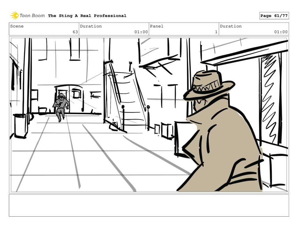 Scene 63 Duration 01:00 Panel 1 Duration 01:00 ...