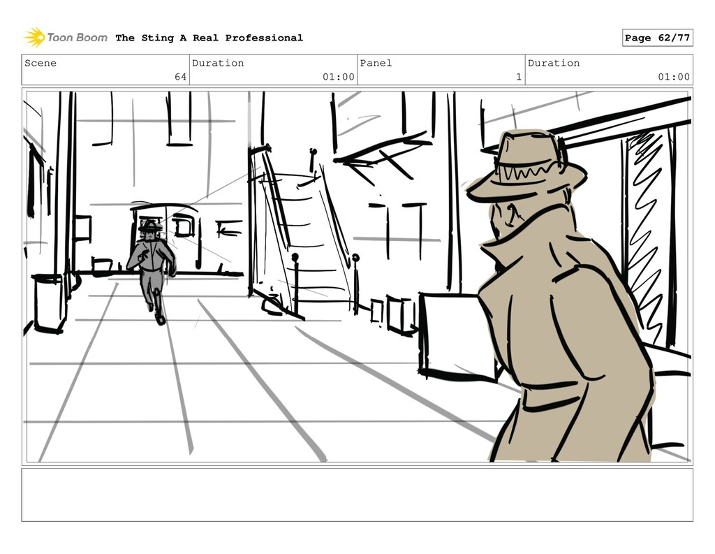 Scene 64 Duration 01:00 Panel 1 Duration 01:00 ...