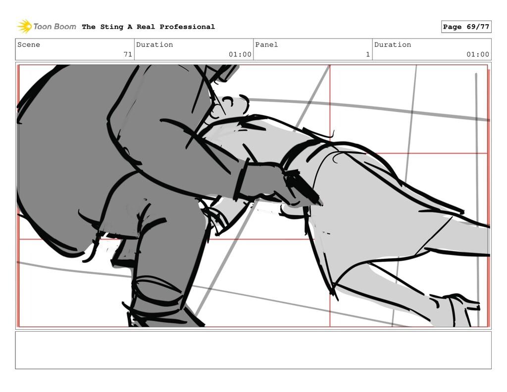 Scene 71 Duration 01:00 Panel 1 Duration 01:00 ...