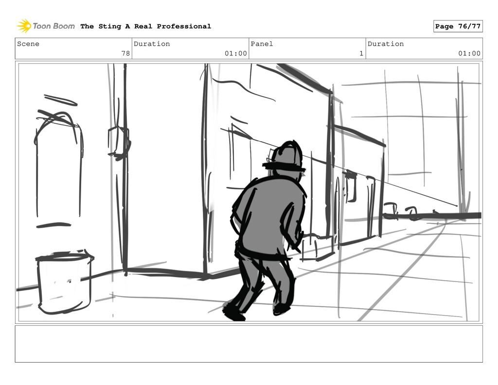 Scene 78 Duration 01:00 Panel 1 Duration 01:00 ...