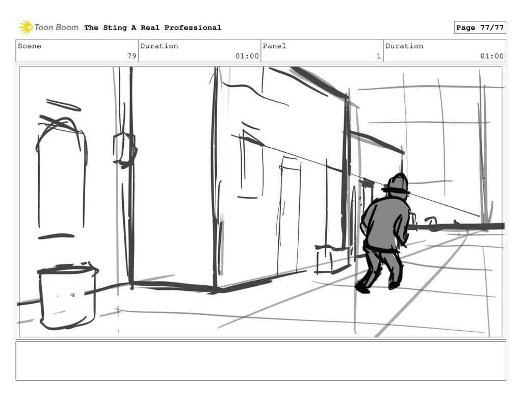 Scene 79 Duration 01:00 Panel 1 Duration 01:00 ...