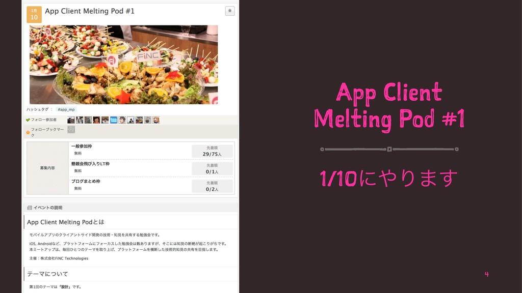 App Client Melting Pod #1 1/10ʹΓ·͢ 4
