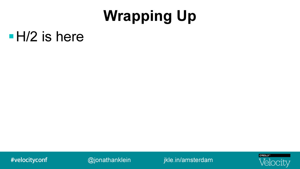 Wrapping Up !H/2 is here @jonathanklein jkle.in...