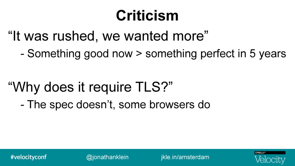 """Criticism """"It was rushed, we wanted more"""" - Som..."""