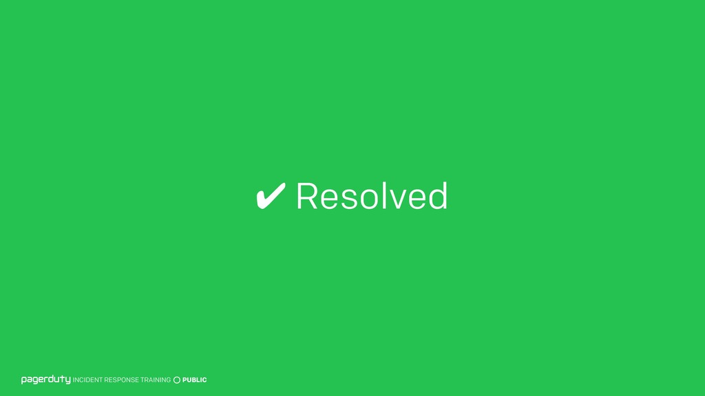 ✔ Resolved INCIDENT RESPONSE TRAINING PUBLIC