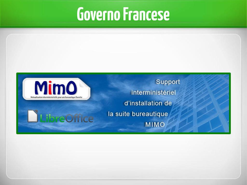 Governo Francese