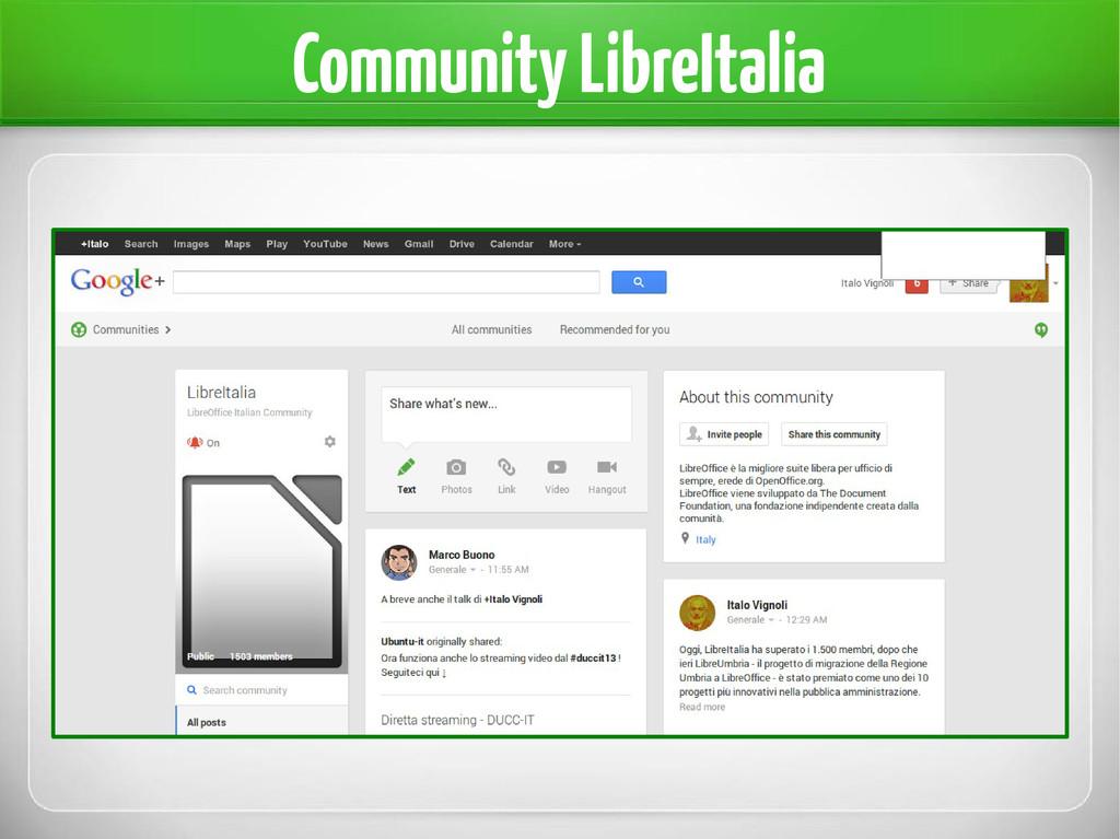 Community LibreItalia