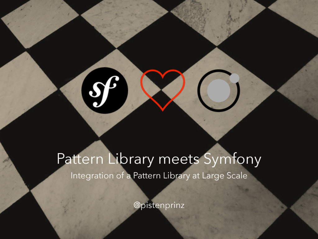 Pattern Library meets Symfony @pistenprinz Inte...