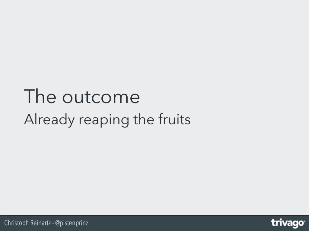 Christoph Reinartz - @pistenprinz The outcome A...