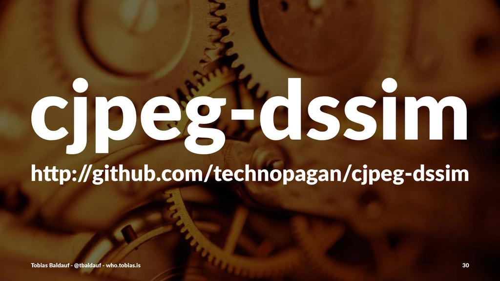 "cjpeg&dssim h""p:/ /github.com/technopagan/cjpeg..."