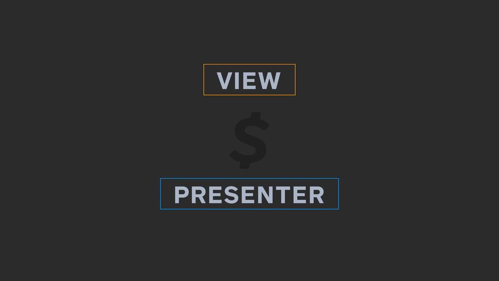 VIEW PRESENTER