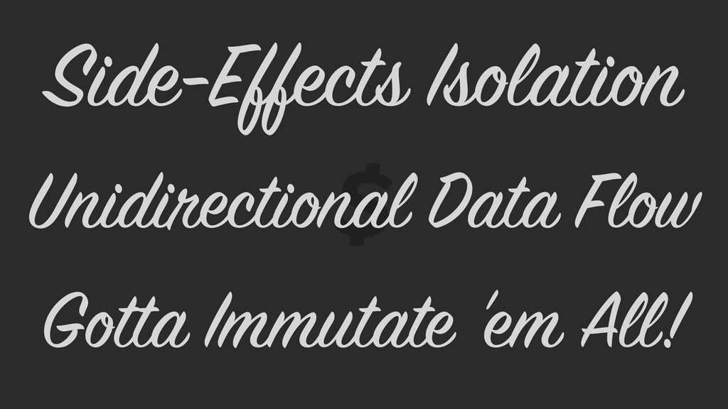 Gotta Immutate 'em All! Unidirectional Data Flo...