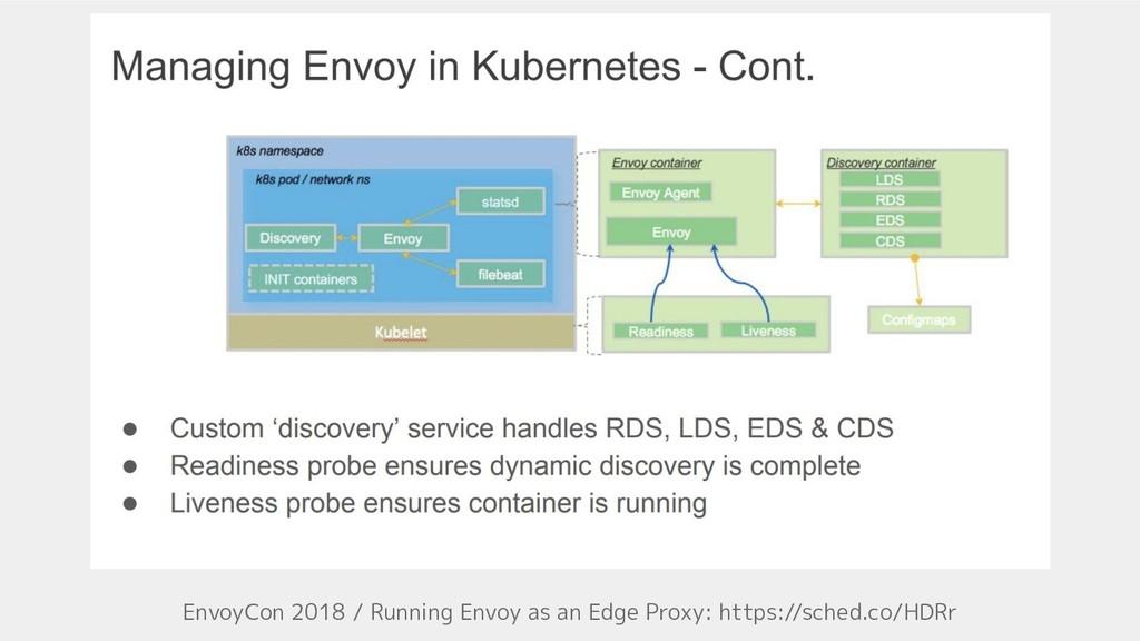 EnvoyCon 2018 / Running Envoy as an Edge Proxy:...