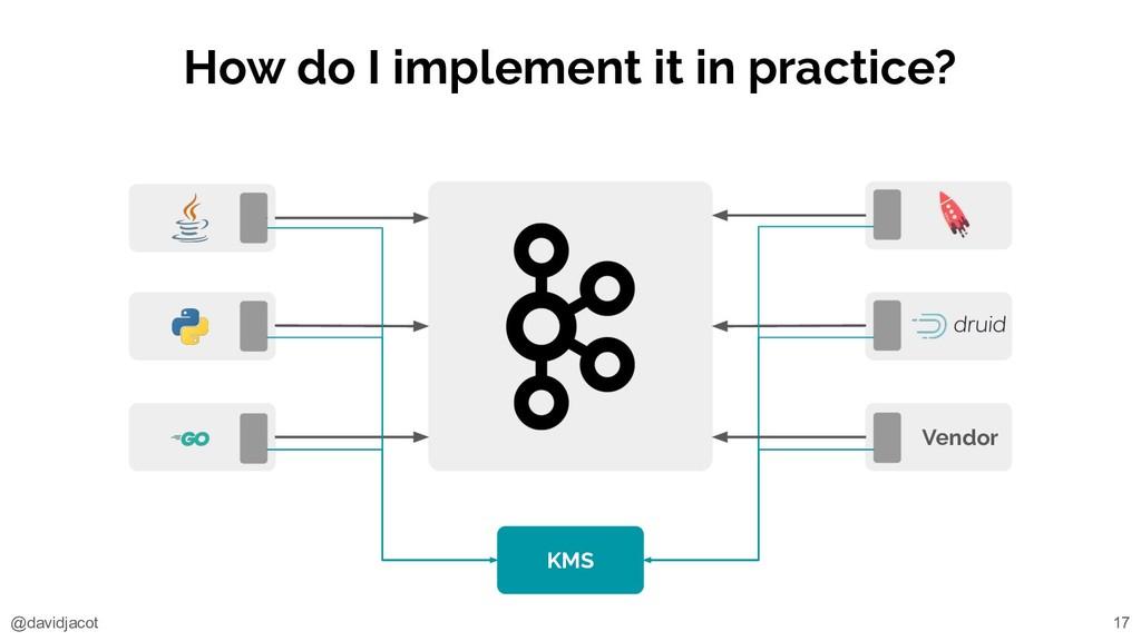 @davidjacot How do I implement it in practice? ...