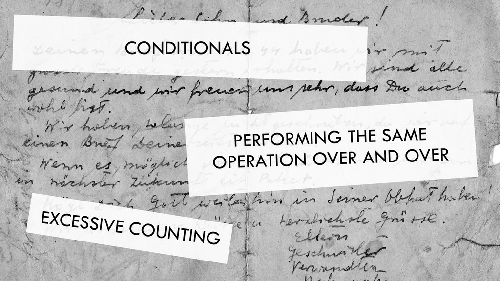 CONDITIONALS PERFORMING THE SAME OPERATION OVER...