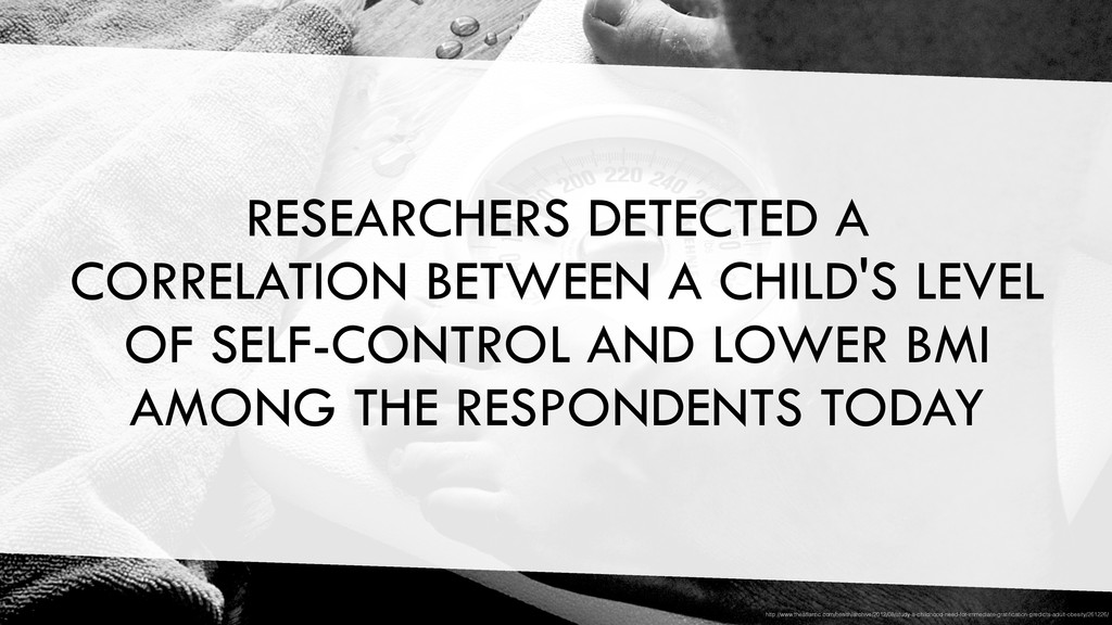RESEARCHERS DETECTED A CORRELATION BETWEEN A CH...