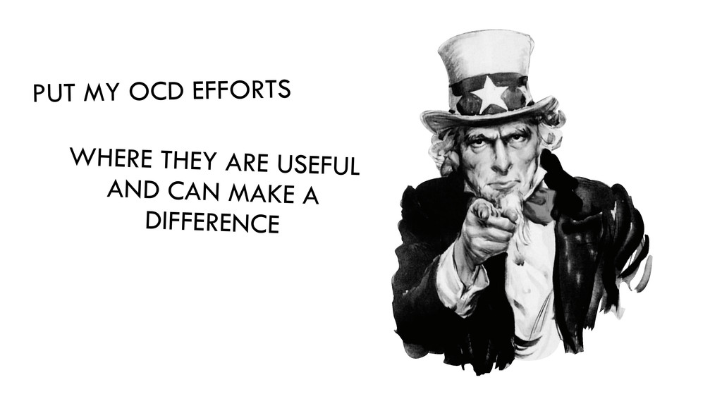 WHERE THEY ARE USEFUL AND CAN MAKE A DIFFERENCE...