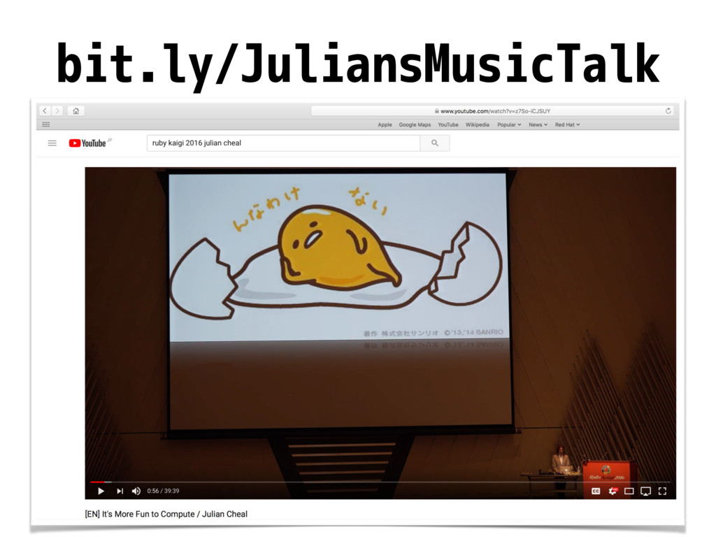 bit.ly/JuliansMusicTalk