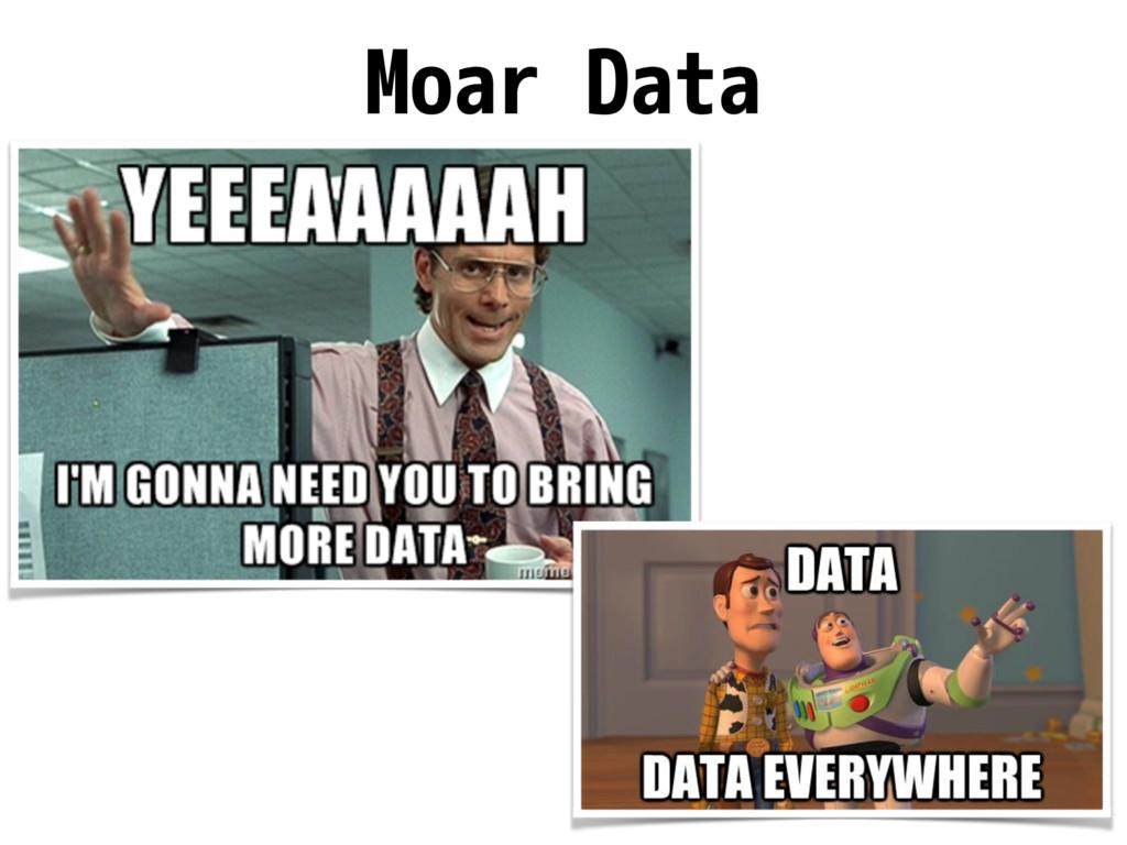 Moar Data