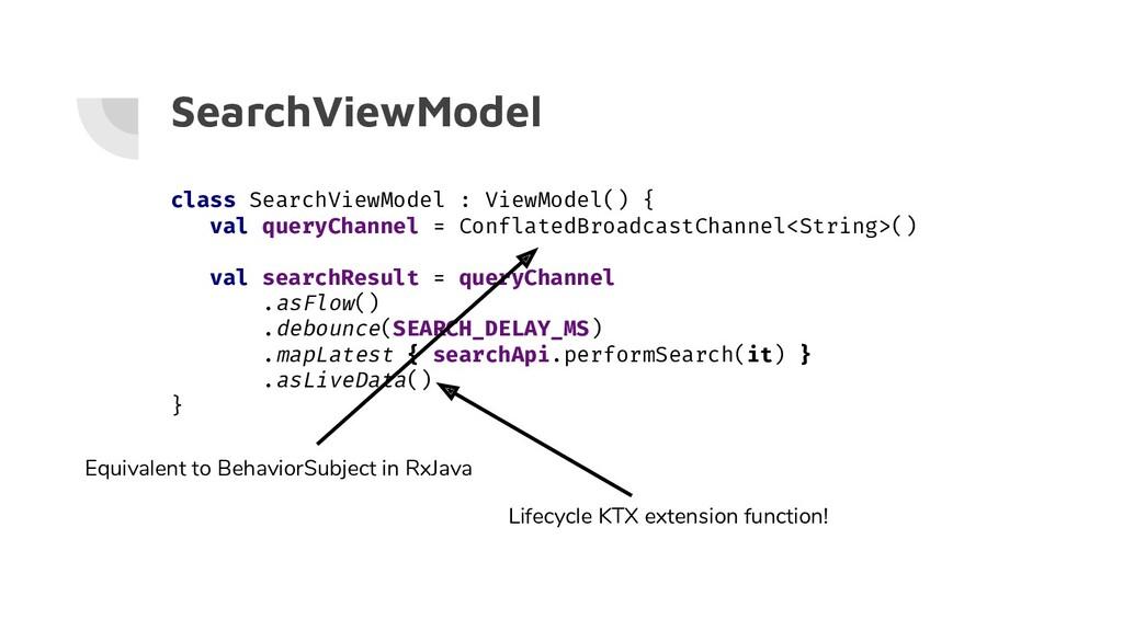 SearchViewModel class SearchViewModel : ViewMod...
