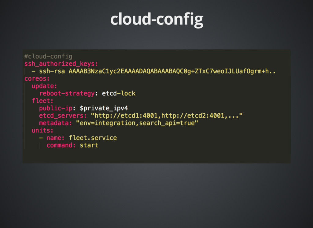 cloud-config cloud-config