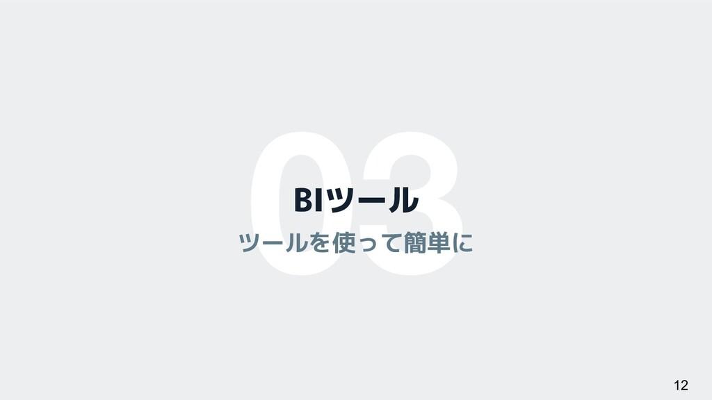 03 BIツール ツールを使って簡単に 12