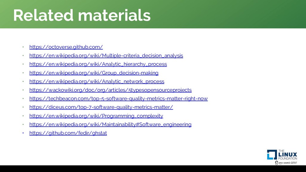 Related materials • https://octoverse.github.co...