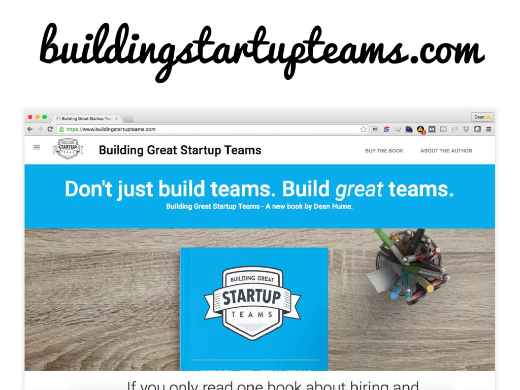 buildingstartupteams.com