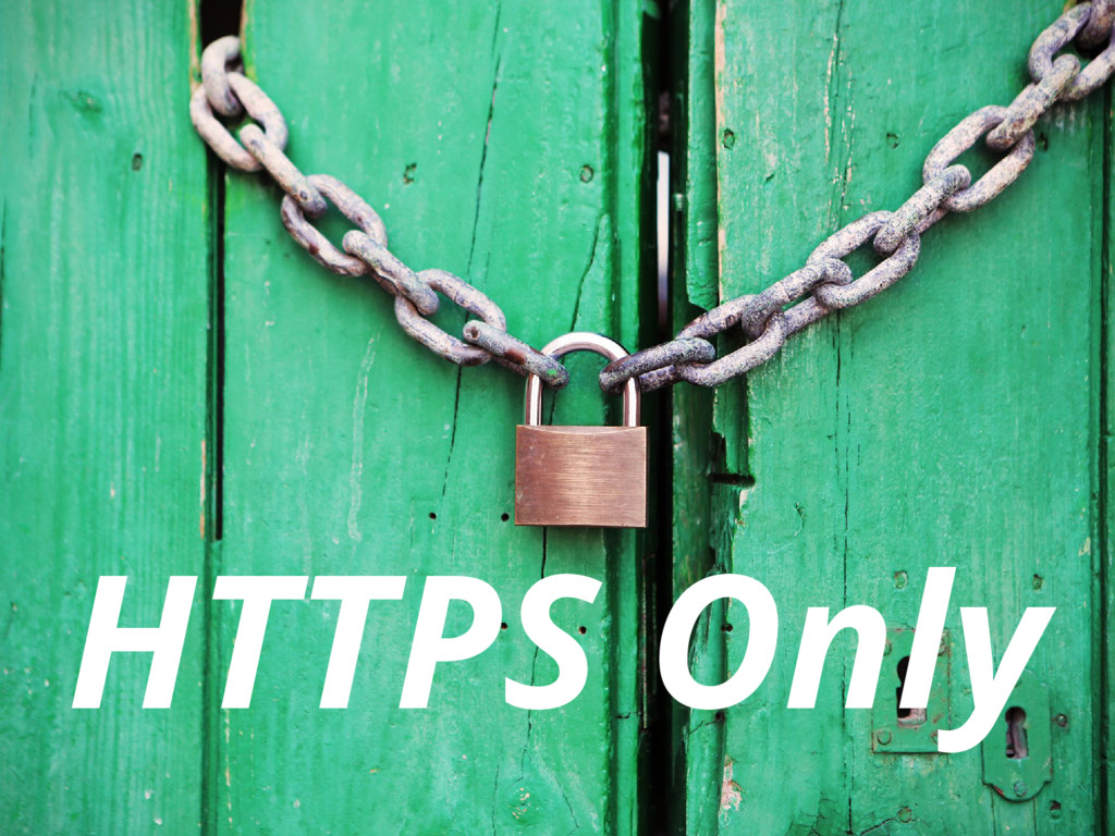 HTTPS Only