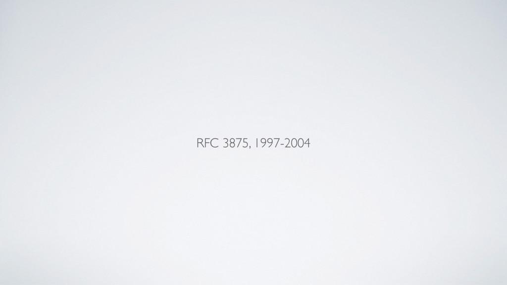 RFC 3875, 1997-2004
