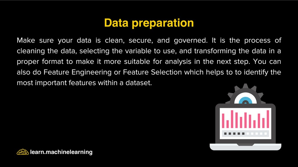 Make sure your data is clean, secure, and gover...