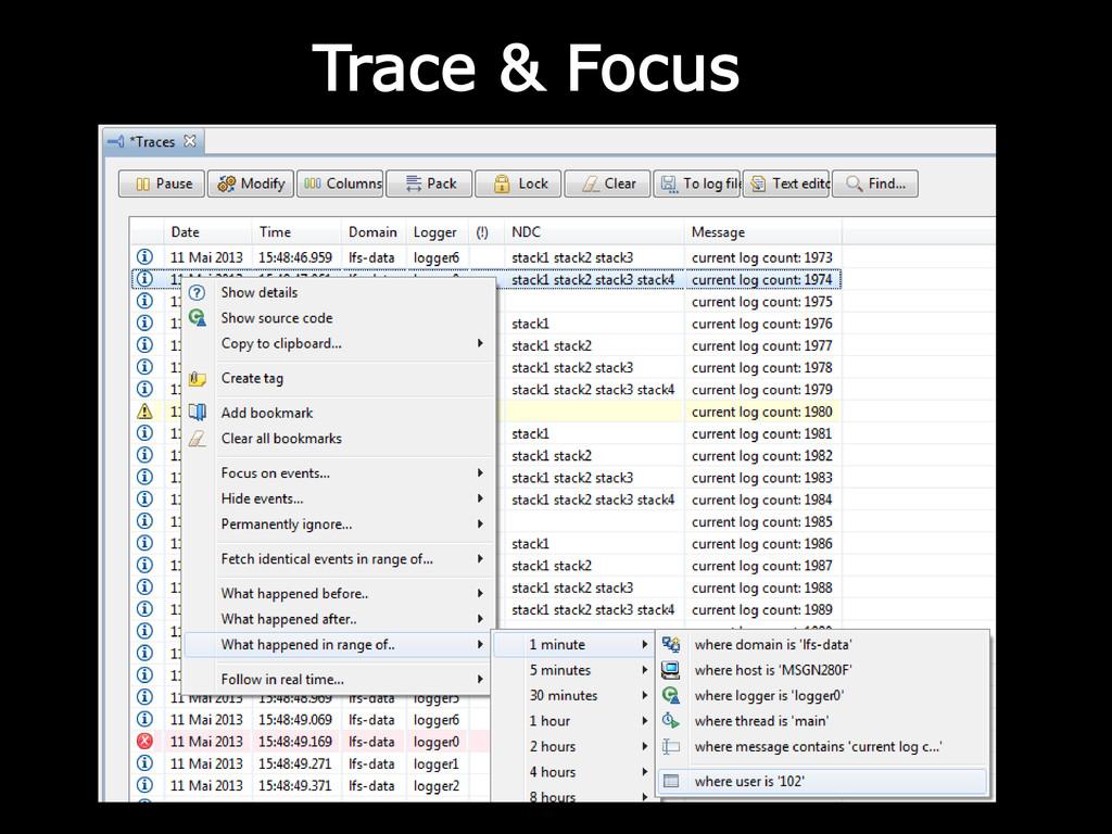 Trace & Focus