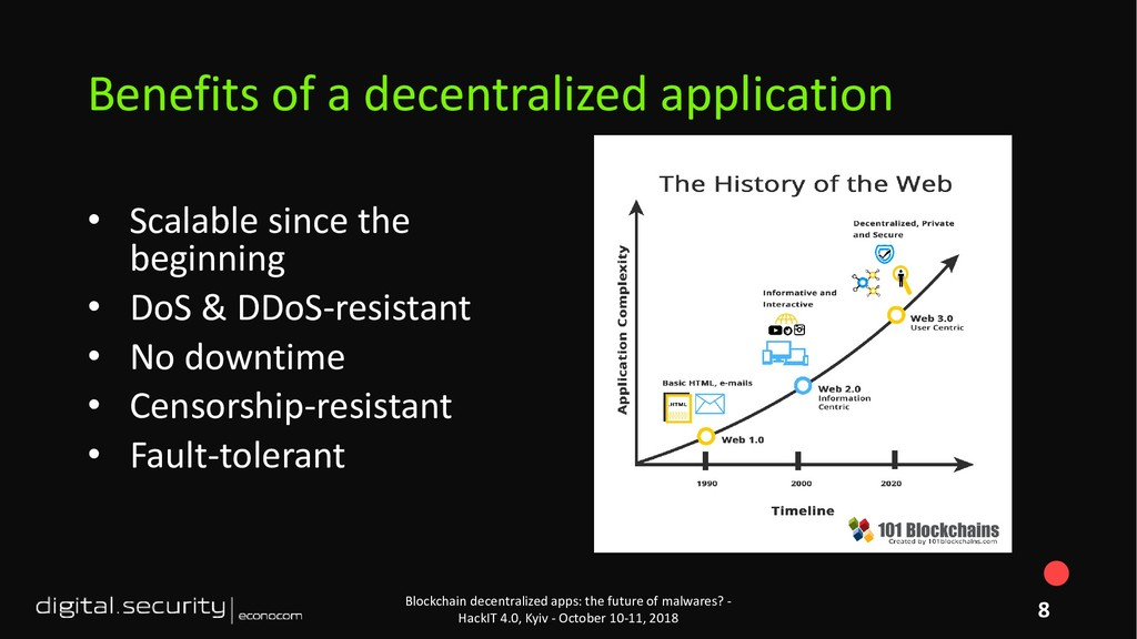• Scalable since the beginning • DoS & DDoS-res...