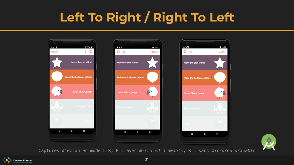 Left To Right / Right To Left 21 Captures d'écr...