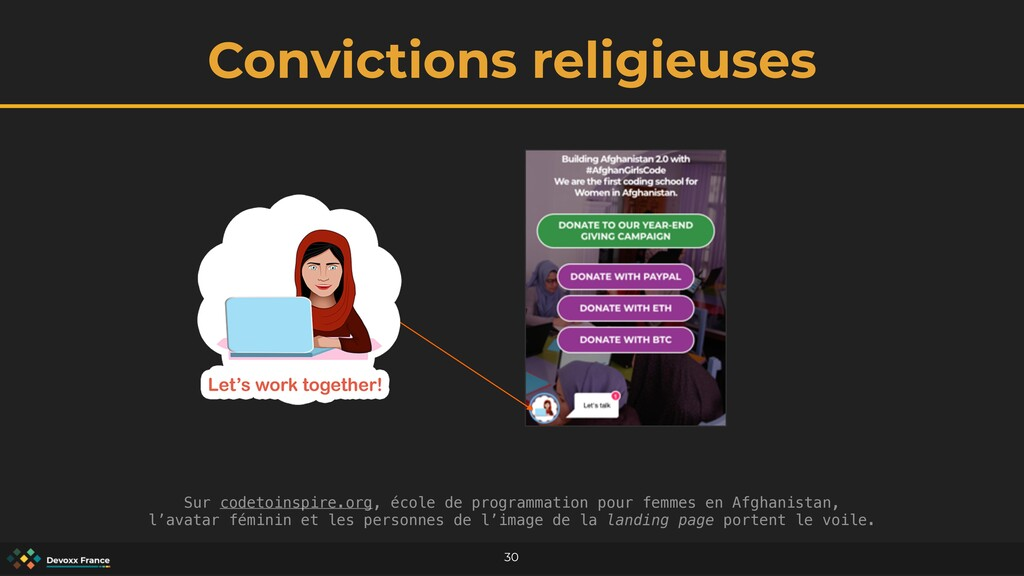 Convictions religieuses 30 Sur codetoinspire.or...