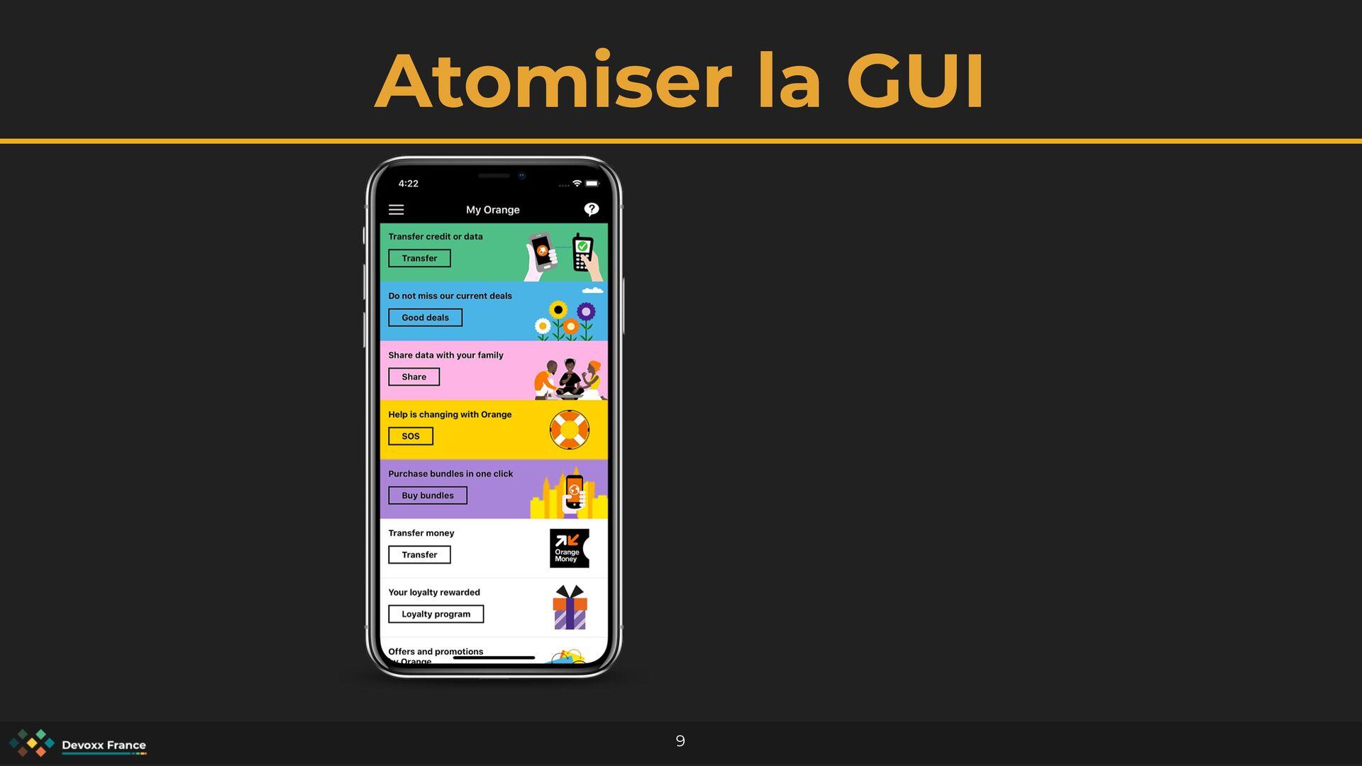 Atomiser la GUI 9