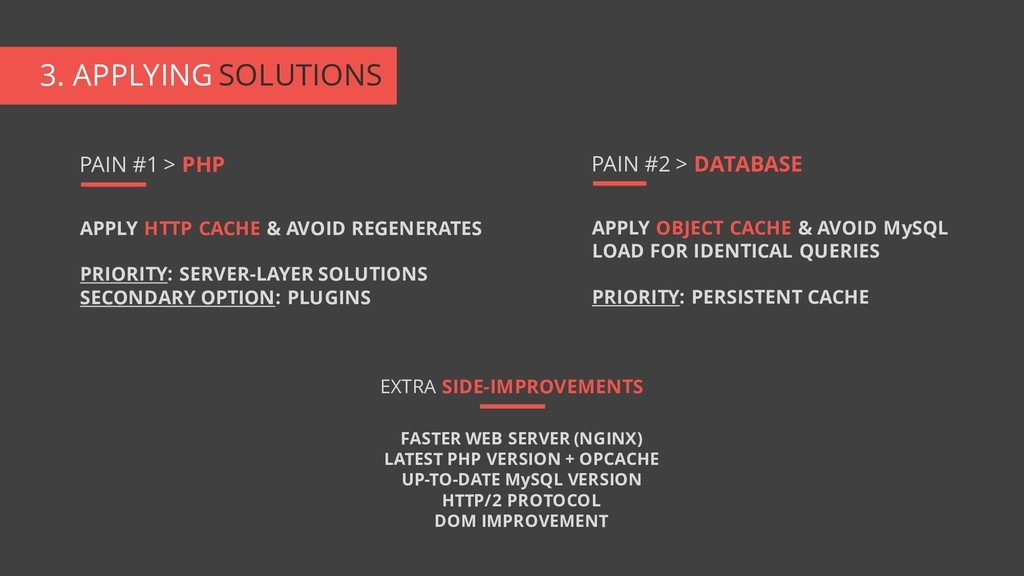 3. APPLYING SOLUTIONS APPLY HTTP CACHE & AVOID ...