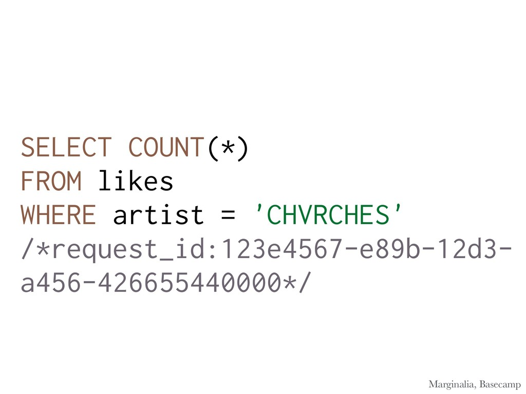 SELECT COUNT(*) FROM likes WHERE artist = 'CHVR...