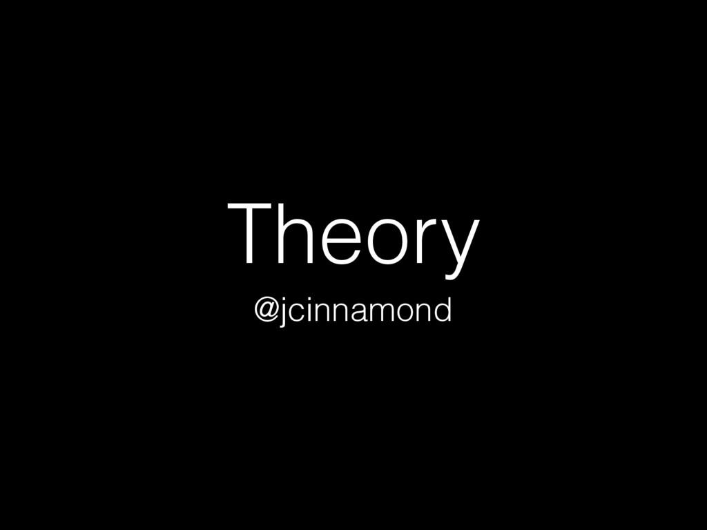 Theory @jcinnamond