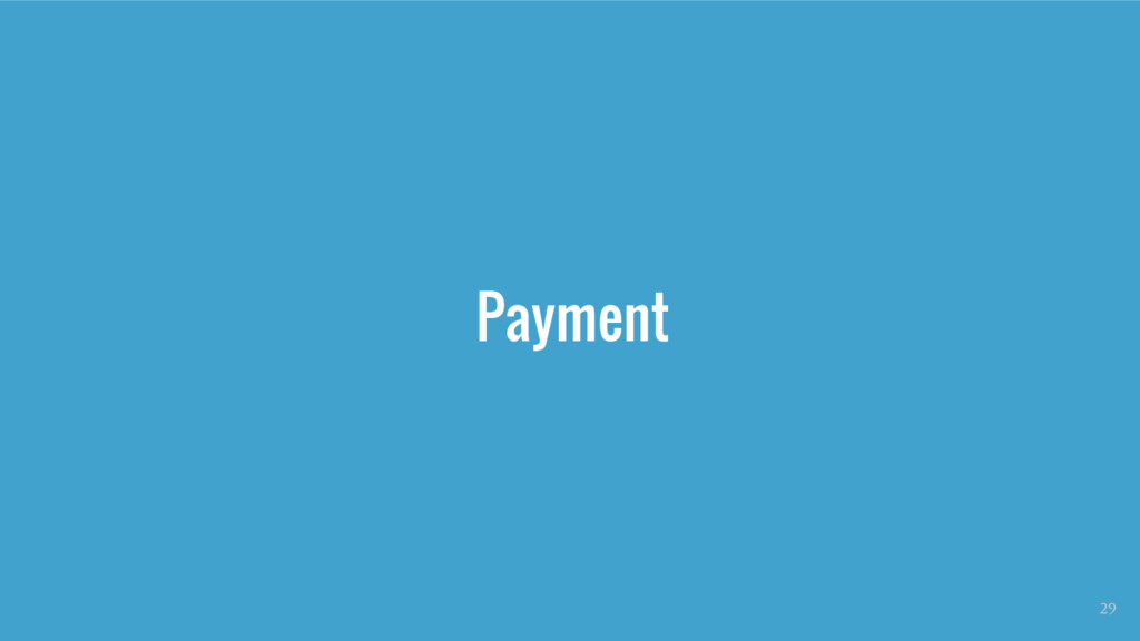 Payment 29