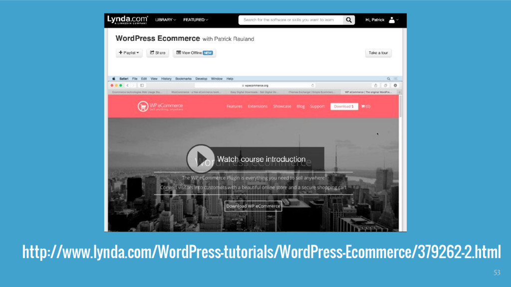 http://www.lynda.com/WordPress-tutorials/WordPr...